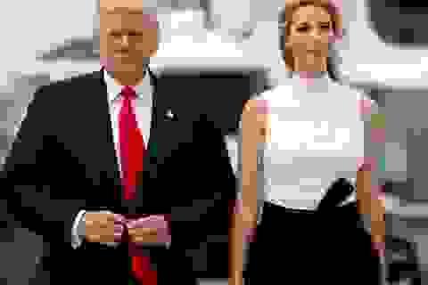 Ái nữ nhà Trump gây quỹ 13 triệu USD giúp cha