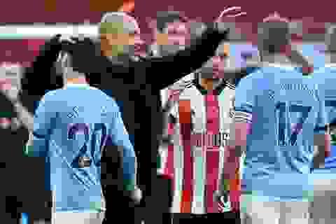 Walker ghi bàn duy nhất, Man City thắng nhẹ Shefffield Utd