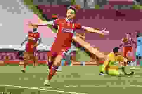 Bàn thắng muộn của Jota đưa Liverpool lên ngôi đầu bảng