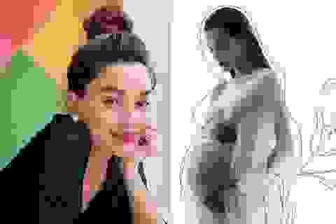 Hồ Ngọc Hà lần đầu chia sẻ hình ảnh mang thai