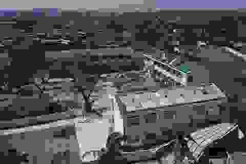 Quảng Ngãi: Khó khăn khắc phục trường lớp sau bão số 9