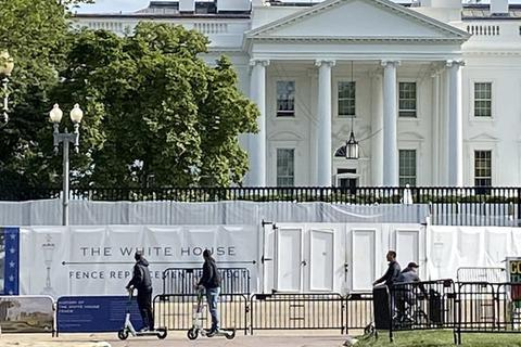 """Nhà Trắng có thể thành """"pháo đài"""" trước ngày bầu cử tổng thống Mỹ"""