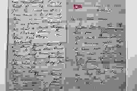 Lá thư giá 880 triệu đồng của mục sư nhường cơ hội sống trên tàu Titanic