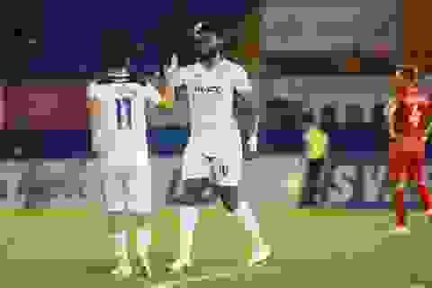 Thắng HL Hà Tĩnh, HA Gia Lai thoát cảnh toàn thua ở giai đoạn 2 V-League