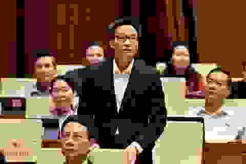 Thay Chủ tịch Hội đồng thẩm định sách giáo khoa tiếng Việt lớp 1