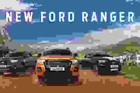 Ford Ranger 2021 ra mắt tại Thái Lan, có một trang bị lần đầu xuất hiện