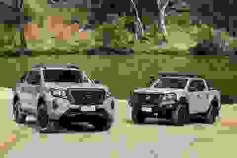"""Nissan Navara 2021 """"xuất kích"""", sẵn sàng đấu với Ford Ranger"""