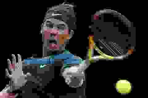 Nadal giành quyền vào tứ kết Paris Masters 2020