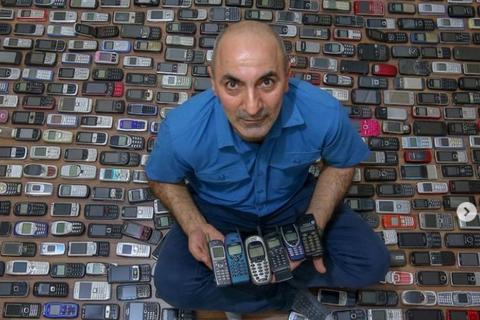 Người đàn ông với bộ sưu tập hơn 1.000 chiếc điện thoại cổ