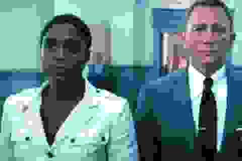 Nữ diễn viên da màu vào vai điệp viên 007 bình thản đối diện chỉ trích