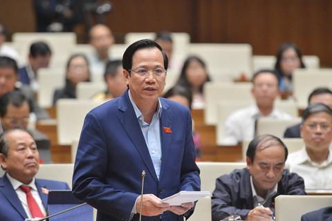 """Bộ trưởng Đào Ngọc Dung nói về """"chìa khóa"""" tạo việc làm"""