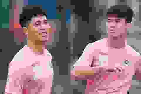 Đình Trọng, Duy Mạnh báo tin vui với CLB Hà Nội