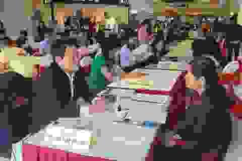 Sáng 7/11, hơn 2.300 vị trí tuyển dụng tại Phiên GDVL quận Long Biên