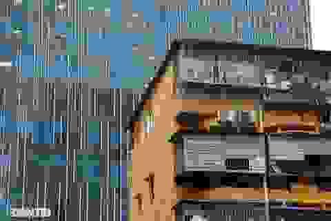 Nét hiện đại và xưa cũ trong không gian kiến trúc Hà Nội
