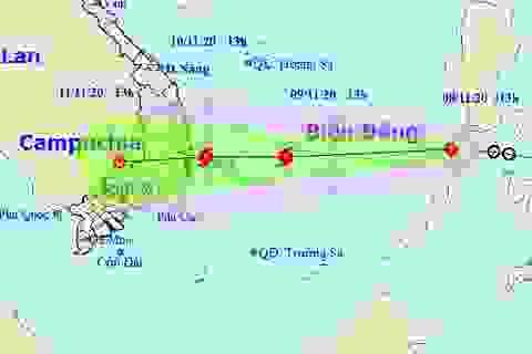 Áp thấp nhiệt đới trên Biển Đông khả năng mạnh thành bão