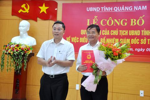 Quảng Nam bổ nhiệm 3 Giám đốc Sở