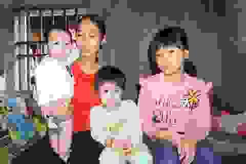 Người phụ nữ khẩn cầu sự giúp đỡ để các con không phải chịu cảnh mồ côi bố
