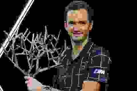 Daniil Medvedev giành cúp vô địch tại Paris Masters 2020