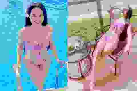 Nữ sinh Kon Tum nổi tiếng vì giống Lưu Diệc Phi thả dáng nuột nà với bikini