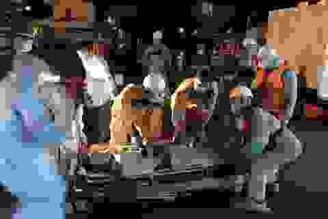 Vượt bão cứu thuyền viên tàu Panama bị nạn ngoài khơi Khánh Hòa