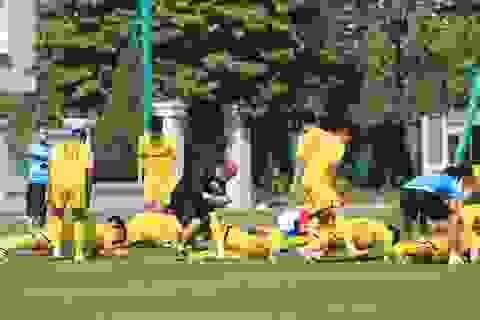 """Nhiều tuyển thủ phải tập riêng, HLV Park Hang Seo chưa chốt """"quân xanh"""""""