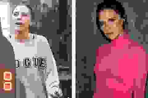 """Victoria Beckham và lần hiếm hoi để lộ mặt """"mộc"""""""