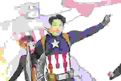"""Sinh viên Báo chí hóa siêu anh hùng đón """"ma mới"""""""