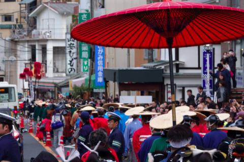 Hakone Daimyo Gyoretsu: Lễ hội ẩn sau nỗi buồn của những lãnh chúa giàu có