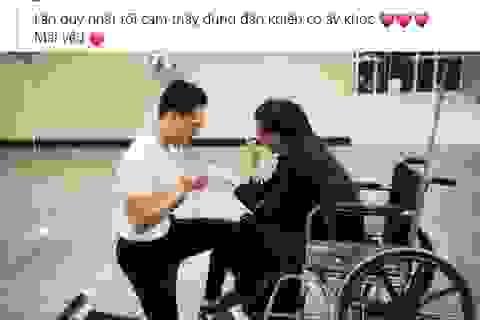 Hồ Ngọc Hà bật khóc khi được Kim Lý cầu hôn