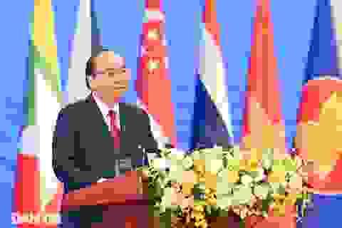 Thủ tướng: Biển Đông là trung tâm trong định hướng hòa bình của ASEAN