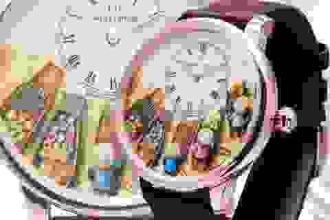 Chợ nổi miền Tây xuất hiện trong đồng hồ độc bản của thương hiệu Thụy Sỹ