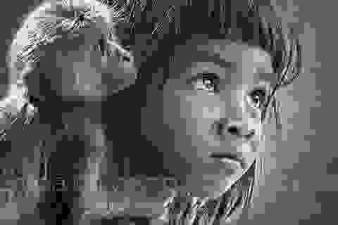 """Nhiếp ảnh Lê Hồng Linh bán đấu giá tác phẩm đạt giải quốc tế """"Bé và khỉ"""""""