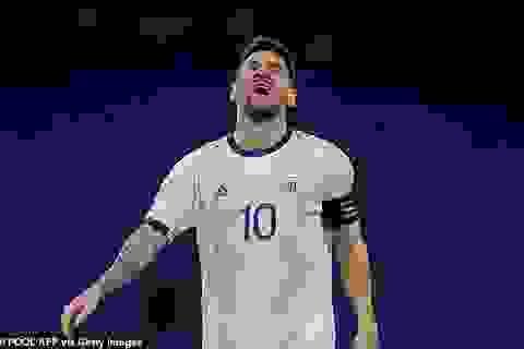 Messi tố cáo trọng tài hai lần tước oan bàn thắng của Argentina