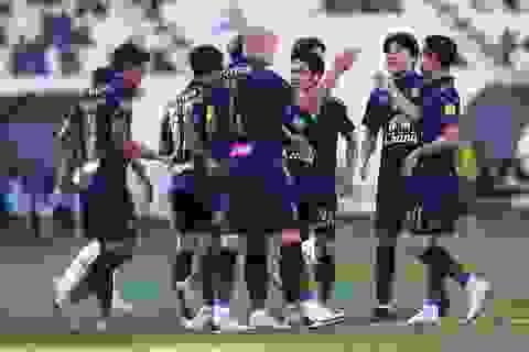 Thế hệ kế cận của bóng đá Thái Lan không quá ấn tượng