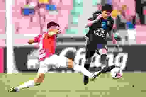 Thái Lan hoà đội Thai-League All Stars dù hai lần dẫn trước