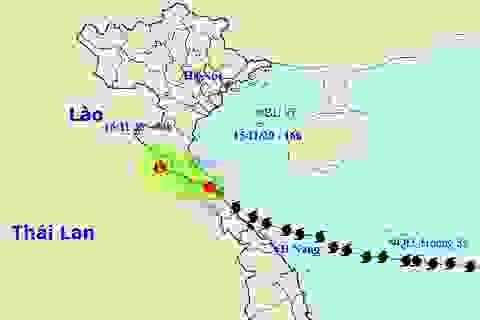 Gần 12h chạy dọc miền Trung, bão số 13 mới suy yếu thành áp thấp nhiệt đới