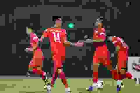 U22 Việt Nam thắng đậm U21 Nam Định trước ngày chia tay