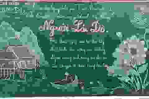 Độc đáo báo tường bằng... phấn vẽ trên bảng đen mừng Ngày Nhà giáo Việt Nam