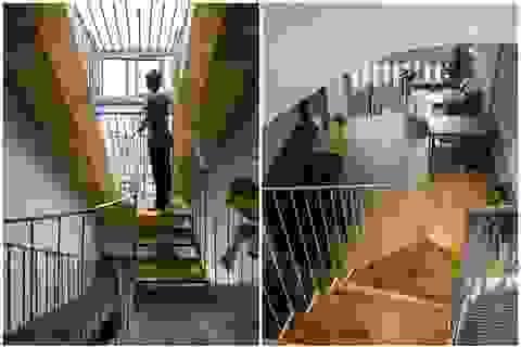 Nằm sâu trong ngõ nhỏ, ngôi nhà Hà Nội vẫn nổi bật bởi thiết kế không ngờ