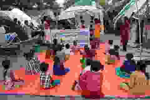 Ấn Độ: Lớp học ngoài trời thời Covid-19