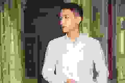 """Chàng trai cao 1m76 đạt giải Nhất """"Nam sinh thanh lịch"""" THPT Trần Phú"""