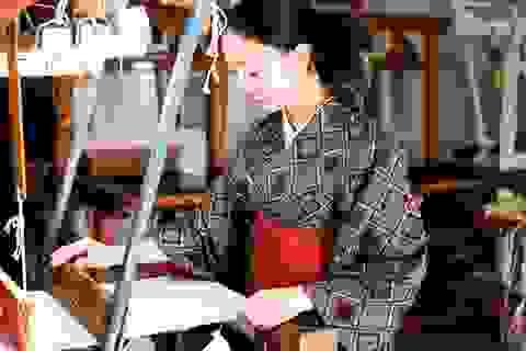 """Kimono """"nhuộm bùn"""": Trang phục cao cấp của quý tộc xưa"""