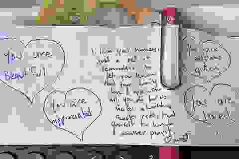 Lời nhắn từ chồng làm tan chảy trái tim người vợ