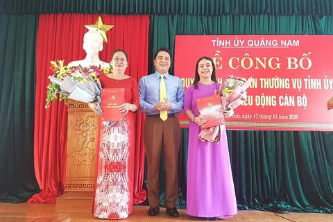 Quảng Nam bổ nhiệm Giám đốc Sở LĐ-TB&XH