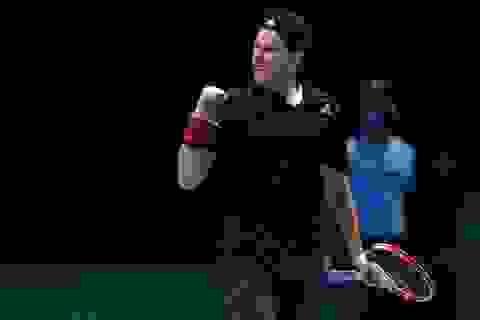 ATP Finals: Thiem đánh bại Nadal sau hai loạt tie break