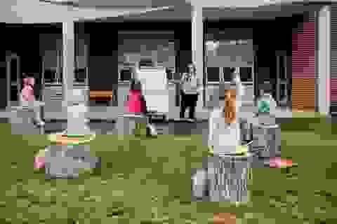 Mỹ: Các lớp học ngoài trời trong thời Covid-19
