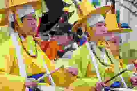Lễ hội Shitennoji Wasso tại Nhật Bản: Tái hiện nhiều nền văn hoá Đông Á xưa