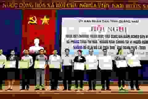 Quảng Nam: Có thể tái nghèo do ảnh hưởng dịch bệnh, bão lụt