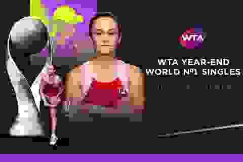 Không thi đấu cả năm trời, tay vợt Australia vẫn giữ số 1 thế giới