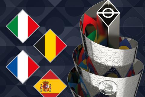 Italia, Pháp, Bỉ và Tây Ban Nha tranh ngôi vô địch UEFA Nations League